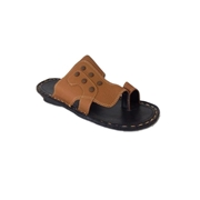 House of Leather - Mstard Leather Sandal