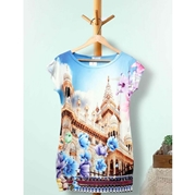 Digital Printed Top for Womens