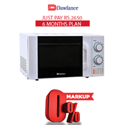 Dawlance Microwave MD-4 6 months exclusive Installment Package