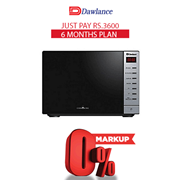 Dawlance Microwave Oven DW-297 GSS 6 months exclusive Installment Package