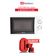 Dawlance Microwave Oven MD-12 6 months exclusive Installment Package
