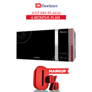 Dawlance Microwave Oven DW-391 HZ 6 months exclusive Installment Package