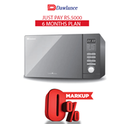 Dawlance Microwave Oven DW-128 G 6 months exclusive Installment Package