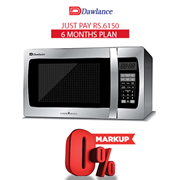 Dawlance Microwave Oven DW-136 G 6 months exclusive Installment Package