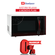 Dawlance Baking Series Microwave Oven - DW-115CHZ 6 months exclusive Installment Package
