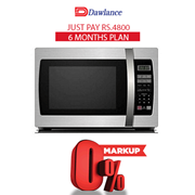 Dawlance DW-132S Microwave Oven 6 months exclusive Installment Package