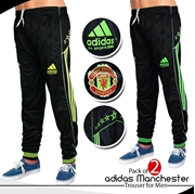 Pack of 2 adidas Manchester Trouser for Men