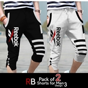 Pack of 2 RB Shorts For Men Design 3