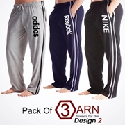Pack Of 3 ARN Trousers For Him Design 2