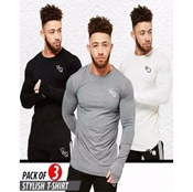 Buy BUNDLE OF 3 - TSHIRT FOR MEN  online