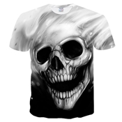 Buy Skull Printed T-Shirt for Men  online