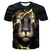 Buy Lion Printed T-Shirt for Men	  online