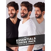 Buy PACK OF 3 - VNECK FULL SLEEVES TSHIRT FOR MENS  online
