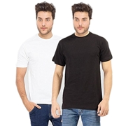 Pack of Two - Men Cotton Tshirt