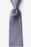 Medium Gray Tie