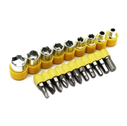 24 Pcs of Socket and Bits Set