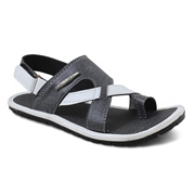 Stylish matte Gray Slide Sandle for Men,s