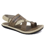 Stylish matte Brown Slide Sandle for Men,s