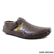 Men's Brown Side Stap Sandle