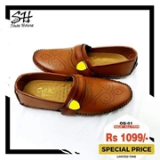 Stylish Camel Brown Loafer for Men's