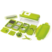 Genius Nicer Dicer Plus – 12 Piece Stainless Steel