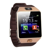 Golden Bluetooth GSM Smart Watch DZ09