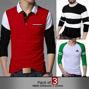 Pack of 3 RBW Different T-shirts