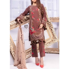 Embroidered 3 Piece Suit Collection By Misha Design MSS-74