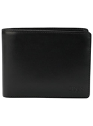 Original Cow Leather Black Wallet by (MLH)