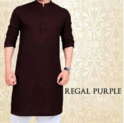 Special Eid Purple Kurta for Mens SKU-SRK-VT-009