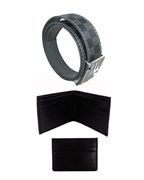 Copy of Pack of Three - Men Casual Belt, Wallet and Card Holder