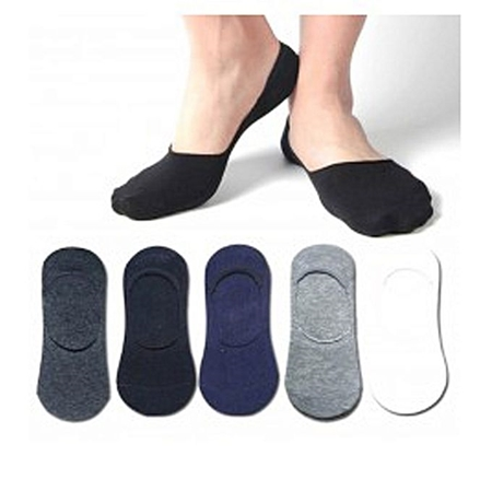 Buy Pack of 6 Pair Of Men Loafers No Show Socks  online