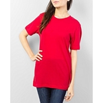 Mardaz Red - Cotton - T - Shirtfor Women