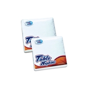 Luxury Paper Napkins White 100's   (30 x 30 / 1 ply)