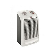 Black + Decker HX310 - Vertical Fan Heater - White & Grey