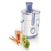Philips Juice Extractor HR1811 - White & Blue