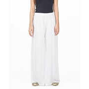 Mardaz White Viscose Palazzo Pant For Women - M D Z -103 - W H T