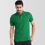 Independence Day Green Polo T-Shirt for Men I-10