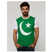 Buy Independence Day Green & White Printed T-Shirt for Men   online