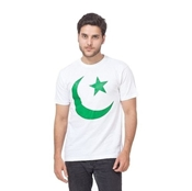 Buy Independence Day White Printed T-Shirt for Men   online
