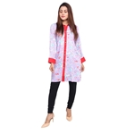 Wokstore Garments Cotton Printed Kurti For Women Sky Blue WG-009