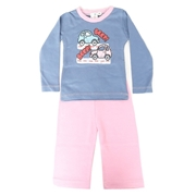 Wokstore Garments Casual Pajamas & Round Tshirt For Kids Multi Color