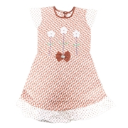 Wokstore Garments Casual Frock For Girls Multi Color