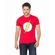 Mardaz Red Cotton Flash Print Tshirt For Men