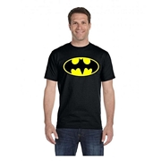 Mardaz Black Batman Tshirt For Men