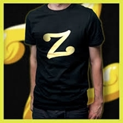 Black Unisex T shirt with Customize Letter Print