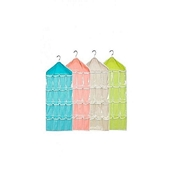 Buy CANDY COLOR WALL MOUNTED 16 GRID STORAGE BAG  online