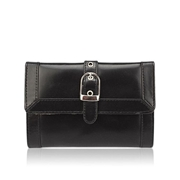 House of Leather Black Women Leather Purse