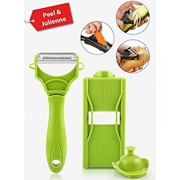 2 In 1 Miracle Peeler - Green