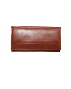 House of Leather - Mustard Leather Purse for Women